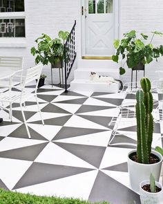 The Happiness of Having Yard Patios – Outdoor Patio Decor Patio Slabs, Patio Tiles, Outdoor Patio Flooring Ideas, Terrace Tiles, Balcony Tiles, Garden Tiles, Deck Tile, Painting Tile Floors, Painting Concrete