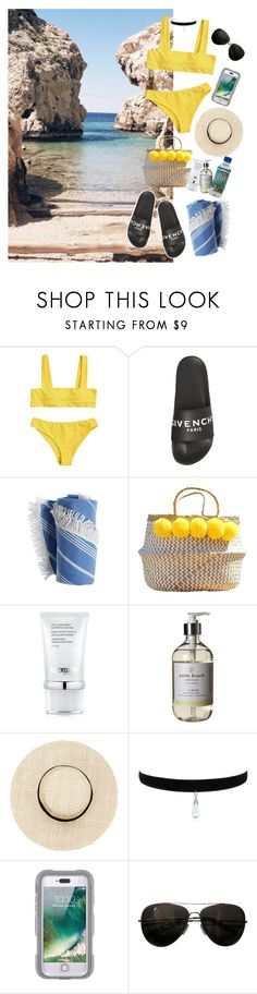 """Beach please"" by itsechelon ❤ liked on Polyvore featuring Givenchy, La Prairie, Palm Beach Collection, Griffin and Tod's"