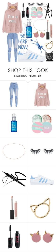"""My style💕💙💕"" by keren300 ❤ liked on Polyvore featuring beauty, Chica y Chico, Blue Nile, adidas and Burberry"