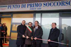 Zaia inaugura il Punto di Primo Soccorso di Piazzale Roma (VE)