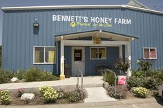Bennett's Honey Farm in Fillmore - AMAZING company, free tours, great thing to do if you are planning a Fillmore Day with the trains. Kosher, organic, unfiltered honey - solar powered buildings - good people!
