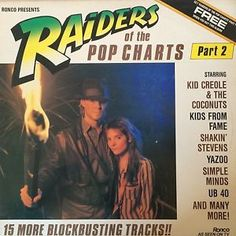 RAIDERS-OF-THE-POP-CHARTS-PART-2-THE-BEAT-PALE-FOUNTAINS-UB-40-1982-RONCO-LP
