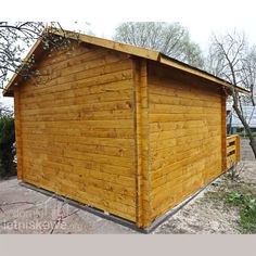 Domek drewniany (Wooden house) Igor I 12 m2