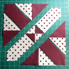 Great Tutorial from the quilting blog What comes next?: Disappearing 4 patch - with a twist