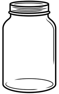 Mason Jar Sketch Related Keywords Science Classroom Decorations, Diy Halloween Decorations, Shape Templates, Templates Printable Free, Mason Jar Clip Art, Mason Jar Image, Colored Mason Jars, Mother Card, Shape Posters