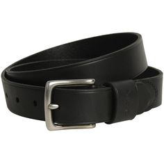 Polo Ralph Lauren Mens Black Vacheta Leather Belt (£27) ❤ liked on Polyvore featuring men's fashion, men's accessories, men's belts, belts, men, polo ralph lauren mens belts, mens real leather belts, mens genuine leather belts and mens leather belts