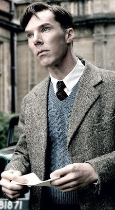 Benedict Cumberbatch in 'The Imitation Game' (2014). Costume Designer: Sammy Sheldon