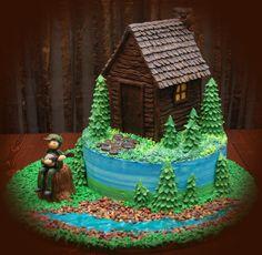 Cabin Cake