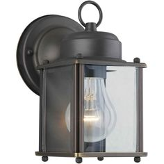 Sparland 1-Light Outdoor Wall Lantern