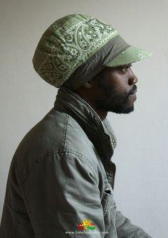 MARKUS Colorblock Tam, RBG Summer Rasta Crown, Hat for ... Dreadlock Hats For Men