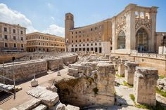 Roman amphitheater of Lecce, Italy. The Roman amphitheater of Lecce is a Roman m , Lecce Italy, Puglia Italy, Spain Travel, Italy Travel, Italy Tours, Italy Trip, Real Castles, Places Of Interest, Best Cities