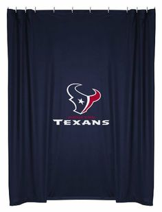 Nfl Houston Texans Shower Curtain by NFL HOUSTON TEXANS.  34.61.  100-percent polyseter. 72 by 72-inch size with dimensions 12 by 9 by 10. fad3cae4b