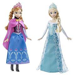 Disney Frozen Bundle of 2 Elsa & Anna Sparkle Dolls - http://www.rekomande.com/disney-frozen-bundle-of-2-elsa-anna-sparkle-dolls/
