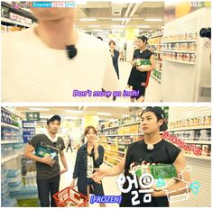 OMG this episode was so hilarious! I love when Dongwook takes the kids (Jackson) shopping! #Roommate