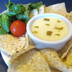 Mexican White Cheese Dip/Sauce Allrecipes.com