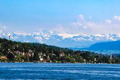 """Zürich against the Alps - Switzerland is one of those places which one can easily call """"the heaven on Earth""""."""
