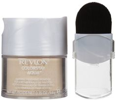 Revlon makeup color stay aqua mineral finishing powder translucent light skin #Revlon