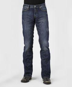 Blue Dark Wash Jeans