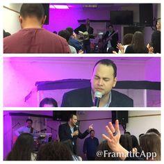 Ministry Christian Life Church - London  -hoje foi um  tempo muito  especial na presença do Senhor
