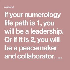 If your numerology life path is 1, you will be a leadership. Or if it is 2, you will be a peacemaker and collaborator. So, what about number 4? Who are you? What are your characteristics?