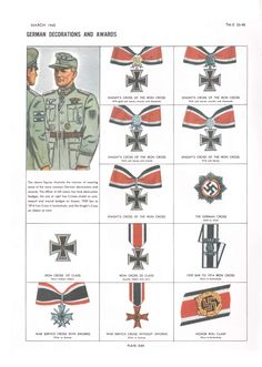 German decorations and awards WWII