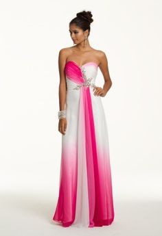 Prom Dresses 2013 - Long Ombre Chiffon Dress from Camille La Vie and Group USA