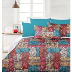 Corsica+Quilt+Cover+Set+-+Queen+Bed King Beds, Queen Beds, Queen Bed Quilts, Quilt Cover Sets, Corsica, Comforters, Blanket, Furniture, Home Decor
