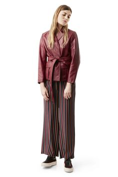Passion Wrap Jacket, Cabernet
