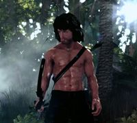 Here's Your First Look At Rambo: The Video Game