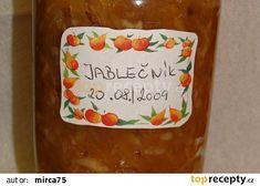 Nakládaný Jablečník recept - TopRecepty.cz Pot Holders, Tableware, Dinnerware, Hot Pads, Potholders, Tablewares, Dishes, Place Settings