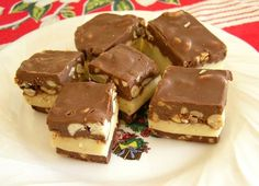 nut goodie bars - favorite Christmas treat!