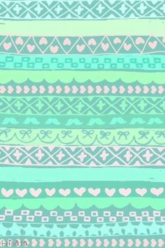 Un imprimé aztèque aux allures printanières grâce à ses pastels et délavées. Qu'en pensez-vous?