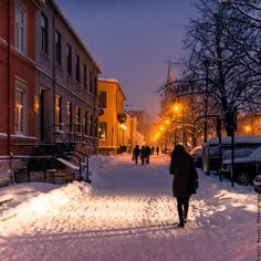 Winter atmosphere in Trondheim, Norway by Aziz Nasuti on 500px
