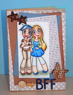 MelissaO - Needful Things Girlfriends Kaylee & Mae - FAB digi stamp