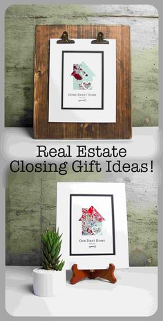 Unique Realtor Closing Gifts! Feature Any Address in the Map!