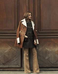 """""""Keeping warm and staying chic is always a tricky combination"""" - @therealoliviap with the Tommy Hilfiger coat."""