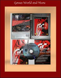 Playstation 2 Gran Turismo 3 A-spec für Ps2 in OVP!