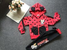 baby girls clothing sets cartoon minnie mouse 2014 winter children's wear cotton casual tracksuits kids clothes sports suit hot #>=#>=#>=#>=#> Click on the pin to check out discount price, color, size, shipping, etc. Save and like it!