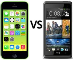 Compare Apple iPhone 5C vs HTC Desire 600