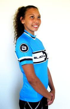 Lovely in blue Blackhawk Blue jersey worldwide shipping http://www.blackhawkbikes.com/