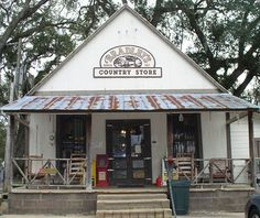 Twelve miles from Tallahassee, a pleasant drive out Centerville Road, beneath a majestic canopy of oak trees and Spanish moss, is Bradley's Country Store. Their trade, plain and simple, is selling the best, old fashioned, country smoked and fresh sausage money can buy. Stands just as it did in 1927.   #Tallahassee  #Landmarks