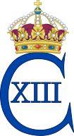 Royal Monogram of King Charles XIII of Sweden