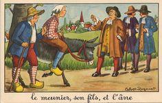 Fables de La Fontaine. 10 bons points pour 1 image