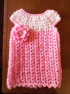 GIRLS CROCHET DRESS!!!!!!!