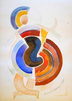 Color Rhythms - Sonia Delaunay - WikiPaintings.org