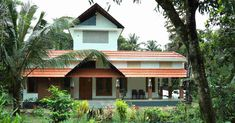 കൗതുകങ്ങൾ നിറയുന്ന വീട്, ഒപ്പം വാസ്തുവും! വിഡിയോ   Home Plans Kerala   House Plans Kerala   Home Style   Manorama Online Kerala Traditional House, Traditional House Plans, Low Cost House Plans, Low Cost Housing, Kerala Houses, Kerala House Design, Home Budget, House Elevation, Sweet Home