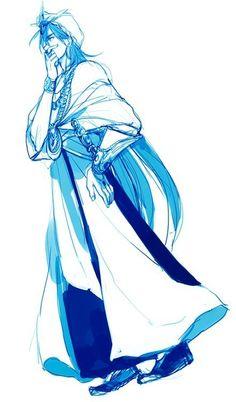 Manga Magi, Anime Magi, Magi Kingdom Of Magic, Magi Adventures Of Sinbad, Sinbad Magi, Best Waifu, Anime Guys, Art Reference, Fan Art
