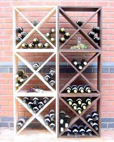 Wine storage bins