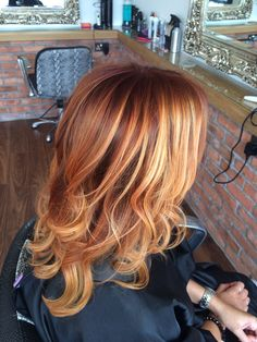 Gorgeous copper & Blonde ombré                                                                                                                                                     More