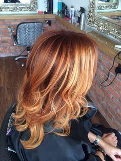 Gorgeous copper & Blonde ombré                                                                                                                                                     More